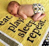 Baby life goals…