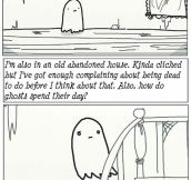 A ghost story…