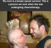 The coolest and strongest mom in the world…