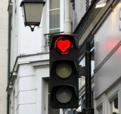 Paris stoplight…
