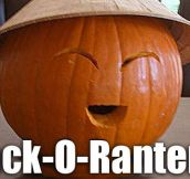 Asian Jack O' Lantern…