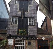 Black lion pub in Brighton. Truly amazing…