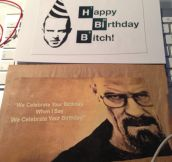 Twisted birthday card…