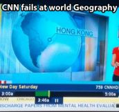 Geography according to CNN…