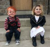 The best Chucky & Tiffany costumes…