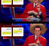 Colbert on Hispanic Heritage Month…