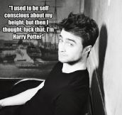 Daniel Radcliffe being awesome…
