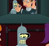 Watching Futurama when…