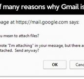 Why Gmail is awesome…