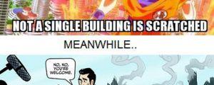 Goku vs. Superman…
