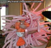 Very original Halloween costume…