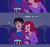 The muggle life style…