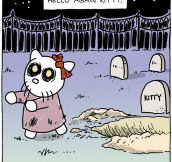 Hello Kitty comes back from the dead…