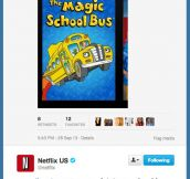 More reasons to love Netflix…