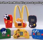 McDonald's good old days…