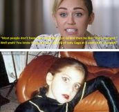 Miley, your argument is invalid…