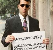 After the government shutdown some NSA employees are desperate…