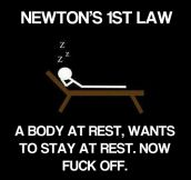 According to Newton…