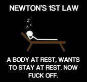 According to Newton…
