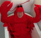 Patrick Stewart just posted this to Twitter. Happy Halloween!