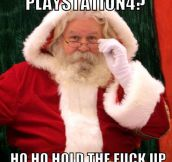 Santa and the economy crisis…