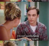 Sheldon's reasonable request…