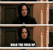 Snape's sudden realization…