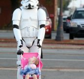 Good dad stormtrooper…