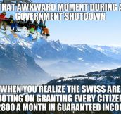 Oh Switzerland…