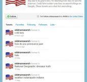 Twitter searcher…