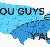 Accurate US pronunciation map…