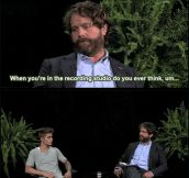 Zach Galifianakis gets serious with Justin Bieber…