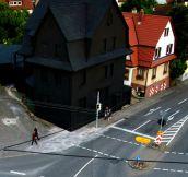 Black house…