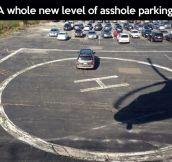 Extreme bad parking…