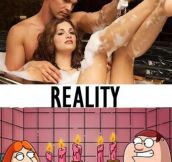 Romantic baths…