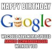 Happy birthday Google…