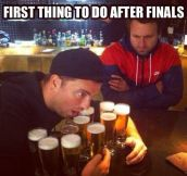 How to recover from finals' stress…