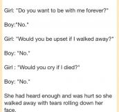 What a touching ending…
