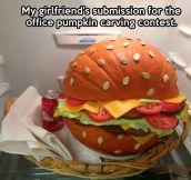 Pumpkin contest winner…