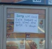 A serious case of bad spelling…