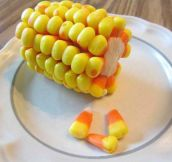 Candy corn finally makes sense…