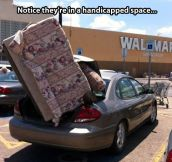 Always at WalMart…