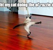 The Ol' Razzle Dazzle…