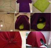 DIY kitty house…