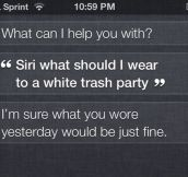 Unhelpful Siri…