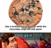 Spider cookies…