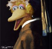Classic Paintings Recreated with Sesame Street…