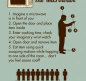 "It's called ""The Microwave""…"
