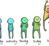 Basically every week of my life…