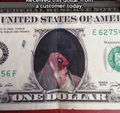 Unexpected currency…